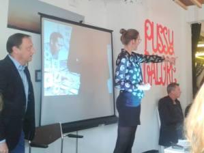 Annabel speaking at 'Belastingdienst voor Etsy ondernemers'