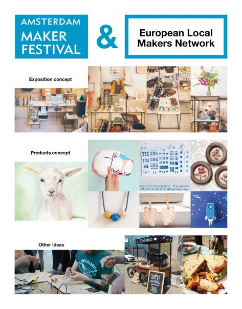 Exhibition European Local Makers Network Annna