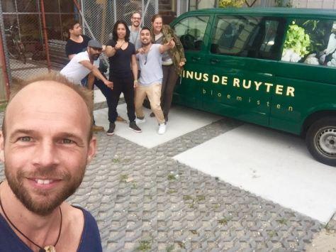 Rinus de Ruyter en Marten Fisher
